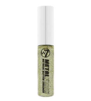 W7- Eyeliner líquido Metal Flash - Glitzy