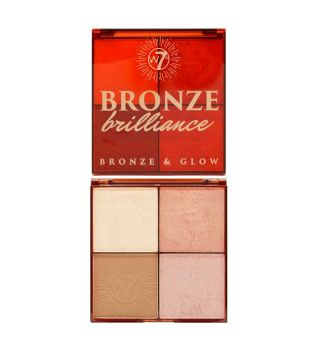 W7 - Paleta de iluminadores y Bronceadores Bronze Brilliance - Light/Medium