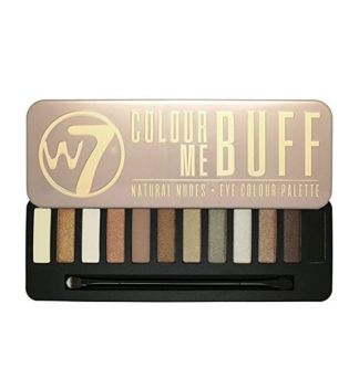 W7 - Paleta de sombras - Colour me Buff