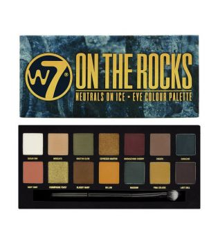 W7 - Paleta de sombras - On the Rocks