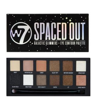W7 - Paleta de sombras - Spaced Out