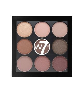 W7 - Paleta Sombra de Ojos The Naughty Nine - Mid Summer Nights