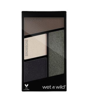 Wet N Wild - Paleta de 4 sombras de ojos Color Icon - E338: Lights Out