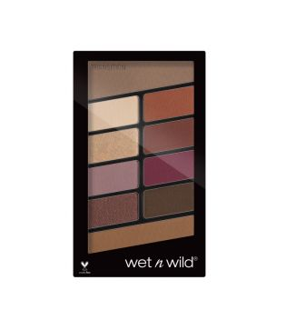 Wet N Wild - Paleta de 10 sombras de ojos Color Icon - E758: Rosé in the air