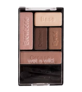 Wet N Wild - Paleta sombra de ojos Color Icon - E3961: Bare and Beautiful