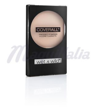 Wet N Wild - Polvos compactos CoverAll - 821B: Fair